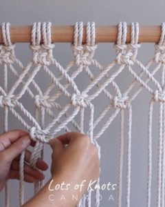 Photo of DIY Macrame Tutorial – Starting Your Work! Overlapping Square Knot Pattern – YouTube