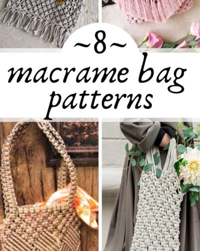 Photo of How to Make Macrame Purses and Bags: 8+ Incredible Tutorials