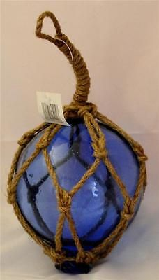 Photo of 10cm BLUE GLASS BALL BUOY WALL HANGING Nautical Seaside Float Boat Sea Fishing | Other Home Decor | Home Decor