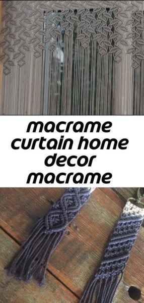 Photo of Best Photos Macrame Curtain outdoor Concepts Most recent Free Macrame Curtain o…