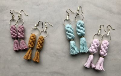 Photo of Crown Collection / Macramé Earrings