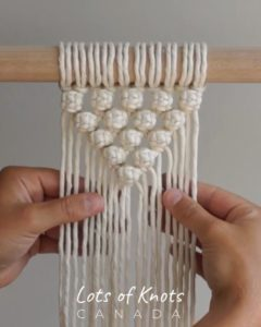Photo of DIY Macrame Tutorial – How To Start Your Work Using Berry Knots! Semi-Circle Pattern – YouTube