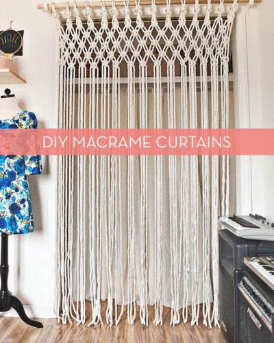Photo of How To: Make DIY Macrame Curtains