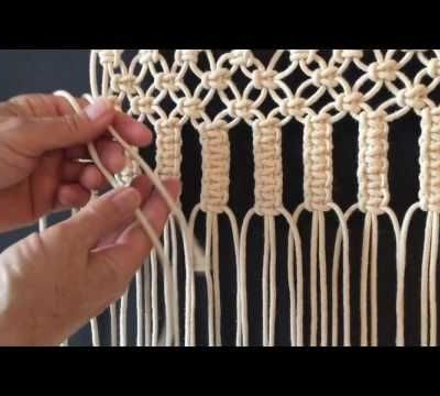 Photo of How to do macrame knots – VERTICAL LARKS HEAD