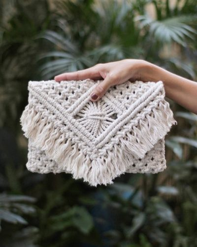 """Photo of Simple Sentiments – Macramé on Instagram: """"Featured Bag: Alexa . We're starting to feel that summer heat. And with it, some of us are dreaming of those long vacations. If you're…"""""""