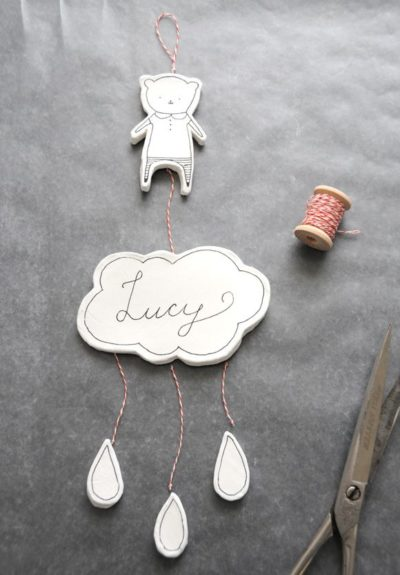 Photo of DIY Clay Nursery Mobile or Wall Hanging