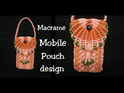 Photo of DIY Macrame Mobile Pouch Bag Making step by step