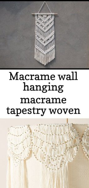 Photo of #Hanging #Macrame #tapestry #Wall #woven Macrame wall hanging Macrame tapestry W…