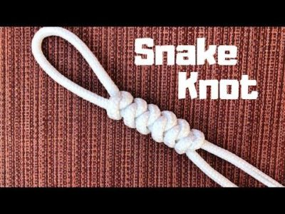 Photo of How to tie the Snake Knot (easy method)