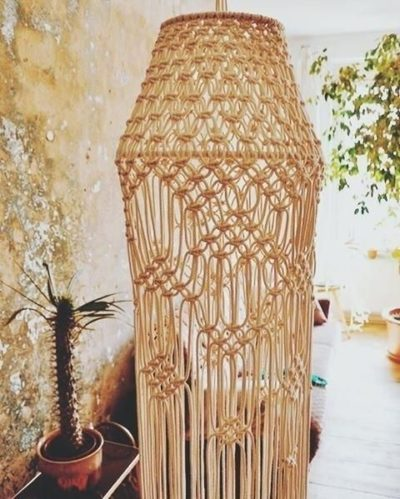Photo of Macrame Lamp Shade Learn To Make A Macrame Lamp Shade For A Chic …