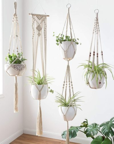 Photo of Mkono Macrame Plant Hangers Set #macrame Show your plants some love with this mo…, #cuteho…