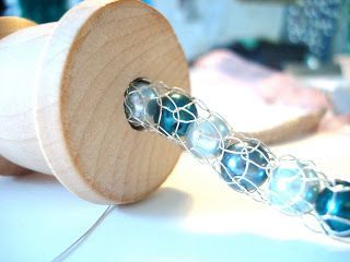 Photo of A JEWELRY WOW!!! Jo Hannah: French Knitting MASTERCLASS with Teri Howes #Wire #J…