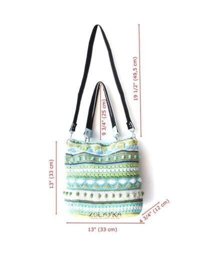 Photo of Extra large tote bag with long crossbody bag strap cotton   Etsy Here's a sho…