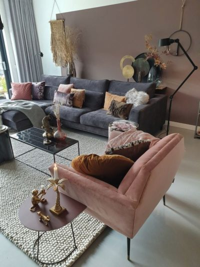 Photo of How To Decorate A Grey and Blush Pink Living Room   Decoholic – How To Decorate…