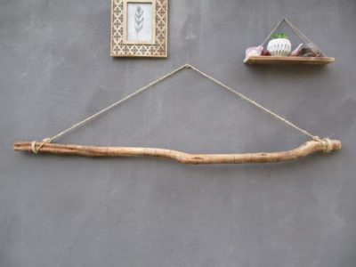 Photo of Large Olive Wood Branches Wall Hangings for Picture Display Wooden Dowel for Macrame Wood Branches S