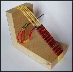 Photo of Make nice bands of weaving good for bracelets, watch straps and bag handles