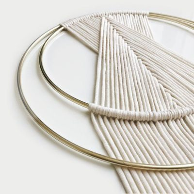 Photo of MACRAME PATTERNS ⨯ Wall Hanging, Gold ⨯ The Twine + Splice BUNDLE