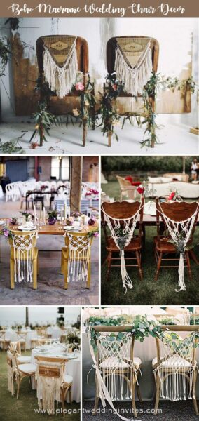 Photo of 45 Awesome Ideas to Decorate Your Wedding Chairs
