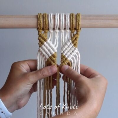 Photo of DIY Macrame Tutorial – Incorporating Colour Into Your Work Using Double Half Hitch Knots! – YouTube