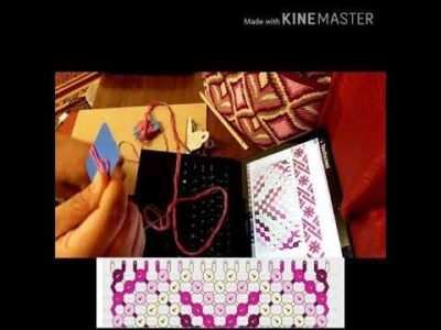 Photo of How to setup the macrame strap for mochila bags and how to read a macrame strap pattern