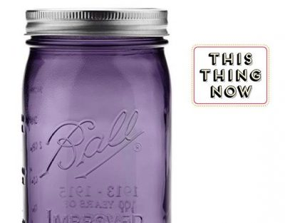 Photo of Love Mason Jars Again with These Purple Pints