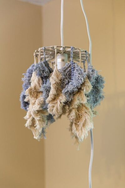 Photo of Macrame Feather Lamp