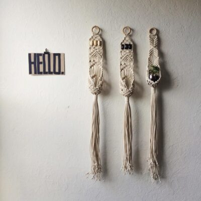 Photo of Macrame Wall Hangings and Kits, Supplies, and Patterns by HouseSparrowNesting