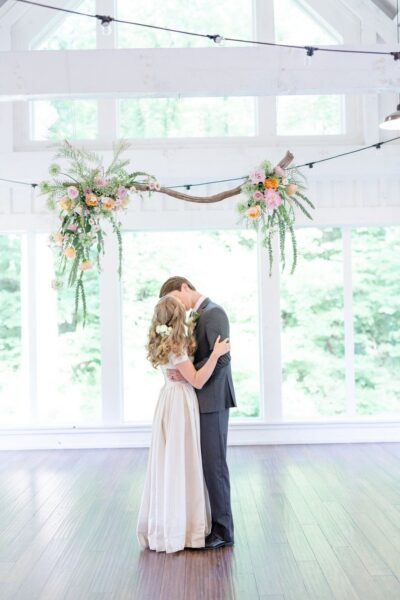 Photo of Macrame, driftwood, and succulents for a rustic boho wedding in Tulsa, OK — House Sparrow Fine Nesting