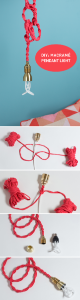 Photo of Make a quick and easy macrame cord