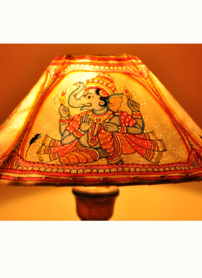 Photo of Phad painting – (India) Table Lamp